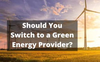 Do You Need to Bother With Switching to Green Energy?