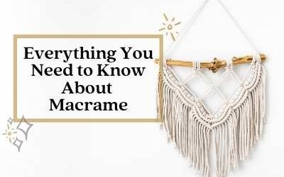 """What is """"Macrame""""?"""